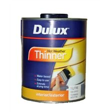 Dulux Hot Weather Interior Exterior PAINT THINNER Water Based, 1L-Aust Brand