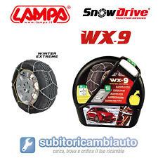 CATENE DA NEVE LAMPA WX-9 9MM GRUPPO 7 OMOLOGATE GD02011