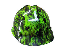 Green Fire MSA V-GUARD Cap Hard Hat