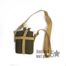 WWII WW2 P37 MILITARY UK BRITISH ARMY CANTEEN WITH WEBBING COVER STRAP