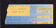 1991 Annie Haslem from Renaissance concert ticket stub Philadelphia