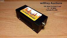 100 Watt 50 OHM Dry RF Dummy Load 100% Tested USA Seller CB HF Ham Workman DL100