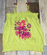 ~ Tee-shirt débardeur jaune IN EXTENSO fille 10 ans 131 à 143cm ~ DIV36
