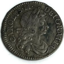 More details for 1684 threepence charles ii ref:e450