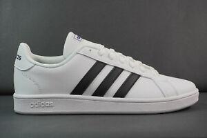 Neu adidas Grand Court Base Herren Sneaker Sportschuhe Freizeit Schuhe  EE7904