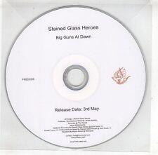 (GX531) Stained Glass Heroes, Big Guns At Dawn - DJ CD