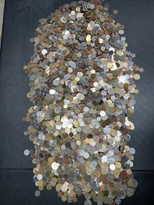 50 Pounds Of Mixed World Coins- Lot 372