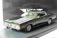 DODGE CHARGER GREEN METAL 1973 NEO 44571 1/43 GRUN METALLIC LHD LEFT HAND DRIVE