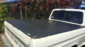 73-96 FORD F100 PARTS UTE TONNEAU TARP KIT 8FT BED LWB TUB NO DRILLING REQUIRED