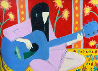 Contemporary Art Oil Painting Joni Mitchell Framed Original Fauvism Folk Music