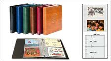 Look 17335P-H Postcard Album Light Brown Premium +20 Cases For 80 Postcards