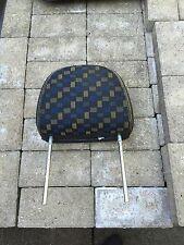 MG ZR Front Head Rest Blue/Yellow Matrix