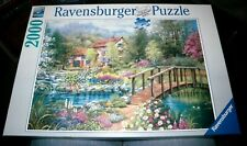 Ravensburger Puzzle 2000 Piece Shades of Summer Used Complete