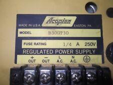 (V53) 1 ACOPIAN B30GT30 POWER SUPPLY