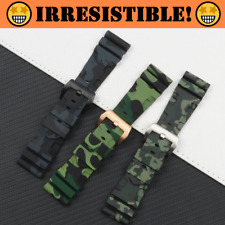 RADIOACTIVE 24mm 26mm Camo Series Rubber Watch Band Strap For Panerai PAM (New)