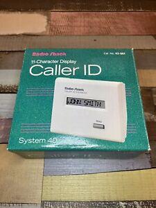 NEW Radio Shack Caller ID