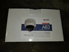 ACTi A83 2MP Outdoor Zoom Dome, D/N, Adapt IR, Basic WDR,
