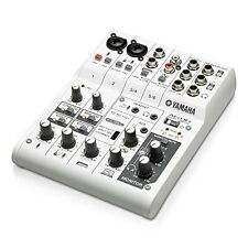 YAMAHA AG06 web Casting Mixer 6-Channel From Japan Brand New Best Buy Gift Idea