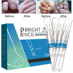4Pc Biological FUNGUS STOP Pencil Anti Fungal Nail Treatment Toenails Fingernail