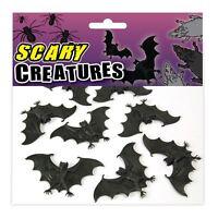 8pcs Mini Halloween Vampire Bats Haunted Party Favours Trick or Treat Decoration