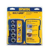 Irwin  BOLT-GRIP  Assorted Sizes  Steel  Bolt Extractor Set  5 pc.