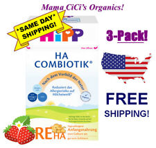 *Free Expedited Ship!* 3 Boxes HiPp Combiotic Ha Pre Hypoallergenic First Infant