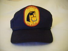New Mens Womens Retired to Stud Navy Hat Cap Baseball
