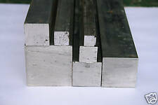 "Aluminium Square Bar 3/4"" x 3/4"" x 250mm  6082"