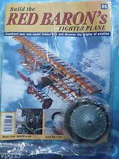 Costruire la RED BARON's FIGHTER AEREO FOKKER DR1 HACHETTE fascicolo 85 NUOVO SIGILLATO