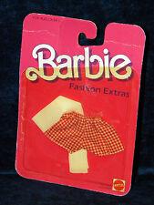 Vintage 1984 Barbie Fashion Extras #7960 MOC Clothing