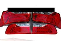 LED Rear Tail Lights Lamp Outer Assembly 4p 1Set For OEM 08 12 Kia Forte Koup
