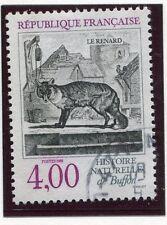 TIMBRE FRANCE OBLITERE N° 2541 FAUNE / RENARD / Photo non contractuelle