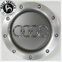 1x Original Audi Radzierblende - Radkappe - Nabendeckel - silber 8D0601165K 1H7