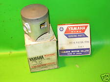 YAMAHA YZ80 1984-87 PISTON AND RING SET 2ND 0.50 OS NOS OEM 39K-11636-00