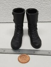 "Black Boots 1/6 Scale Sideshow Buffy Spike Dragon Blue Box Toy 12""Inch Figure"