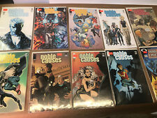 Noble Causes Lot/Run 10 Issues Image Comic 2 3 4 6 7 8 10 11 12 Family Secrets 1
