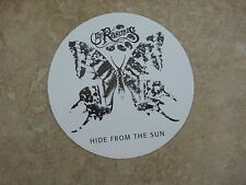 "The Rasmus Band Hide From the Sun RARE Luggage 4.25"" Sticker PROMO 2006"