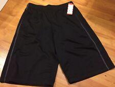 B75 Cat & Jack   BOYS  Athletic Shorts   SIZE XXL / 18 BLACK LONG B-BALL SPORTS