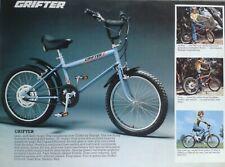 RALEIGH GRIFTER MK1 1976 ADVERT BLAZE BLUE