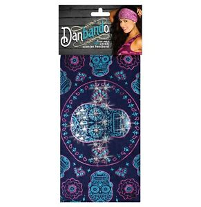 Danbando Head Band Wrap Biker Casual Sugar Skull Paisley New Capsmith