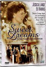 NEW DVD - SWEET DREAMS - THE PATSY CLINE STORY   - JESSICA LANGE , ED HARRIS,