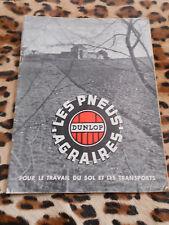 Brochure - PNEUS AGRAIRES DUNLOP