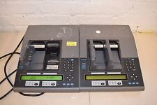 Lot of 2 Cadex C7200 Battery Analyzer Tester w/ 3 Phillips M3538A Adapters
