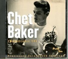 Chet Baker Embraceable You CD Previamente Sellado Sessions Pacific Jazz
