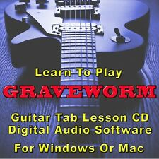 GRAVEWORM Guitar Tab Lesson CD Software - 18 Songs