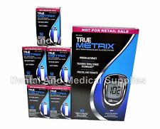250 TRUE Metrix Diabetic Test Strips Exp 2019+ AND FREE TRUEMetrix Meter Kit