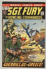 Sgt. Fury and His Howling Commandos #99 June 1972 VG Severin Cover
