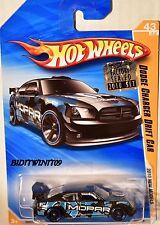 HOT WHEELS 2010 NEW MODELS DODGE CHARGER DRIFT CAR BLACK FACTORY SEALED W+