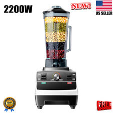2200W Pro Kitchen High-Speed Blender Commercial Blender Food Juice Shakes Mixer
