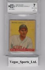 GEORGE CONNALLY  RC  1933 GOUDEY  #27,  BECKETT GRADED 7,  (BCCG) NICE